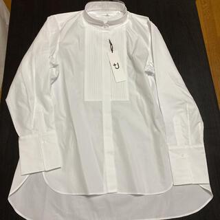 UNIQLO - 【新品】ユニクロ +j スピーマコットン タックシャツ(長袖)+ L