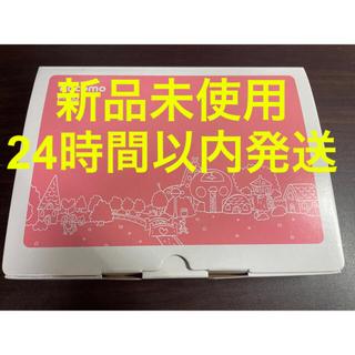 エヌティティドコモ(NTTdocomo)の新品 未使用 キッズケータイ F-03J ピンク(携帯電話本体)