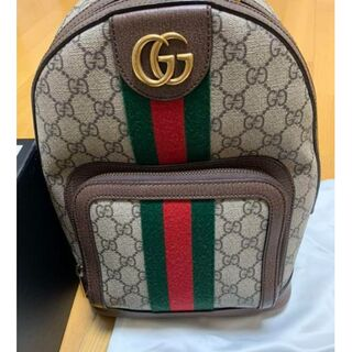 Gucci - GUCCI リュック   GG スモール バックパック