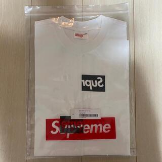 Supreme - supreme CDG split box logo Tee S