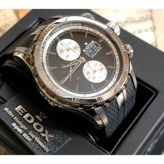 エドックス(EDOX)のエドックス/グランドオーシャン★クロノグラフ★ブラック/黒/メンズ/腕時計(腕時計(アナログ))