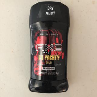 ユニリーバ(Unilever)の限定品!AXE × LIL YACHTY GOLD デオドラント(制汗/デオドラント剤)