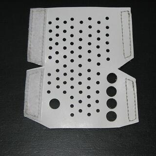 ホルン用ハンドガード ホワイト 牛革(ホルン)