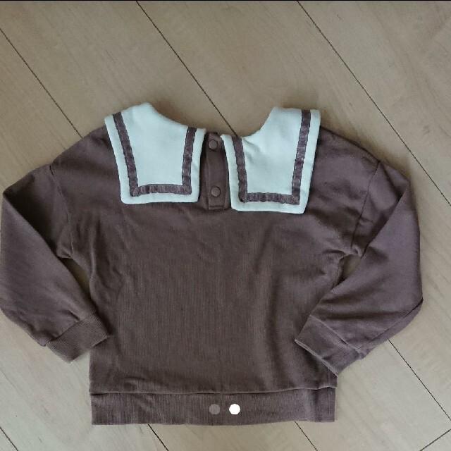 しまむら(シマムラ)のしまむら キッズ トップス  100 キッズ/ベビー/マタニティのキッズ服女の子用(90cm~)(Tシャツ/カットソー)の商品写真