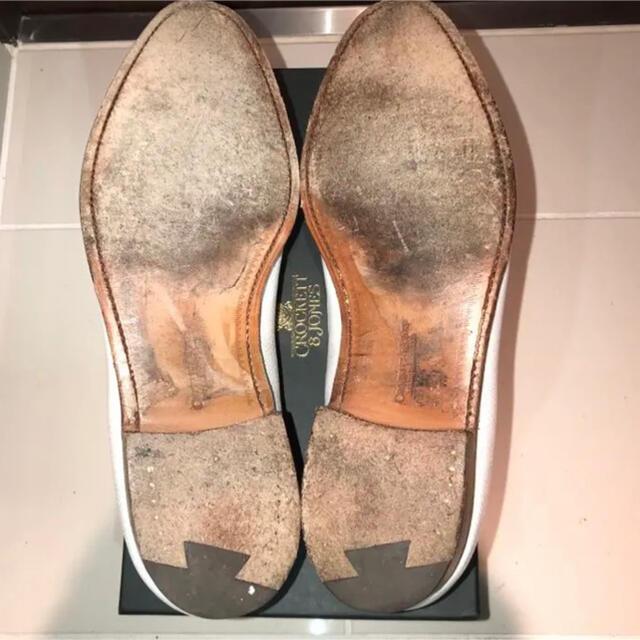 Crockett&Jones(クロケットアンドジョーンズ)の数回着用☆Crockett&Jones×Ships☆タッセルローファー☆27cm メンズの靴/シューズ(ドレス/ビジネス)の商品写真