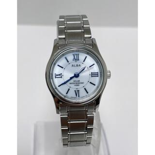 アルバ(ALBA)のT355 MBR★美品 セイコー  ALBA  ソーラー 10気圧防水 腕時計(腕時計)