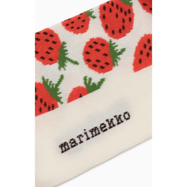 marimekko(マリメッコ)のmarimekko  Kohina Mansikka ソックス レディースのレッグウェア(ソックス)の商品写真