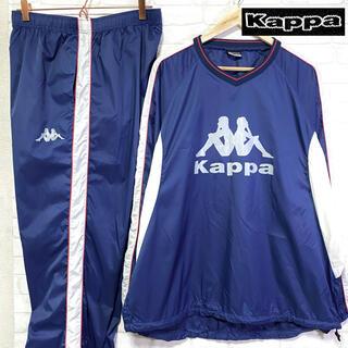 カッパ(Kappa)のKappa カッパ ピステ セットアップ ビッグロゴ ナイロン 撥水 ジャージ(ウェア)