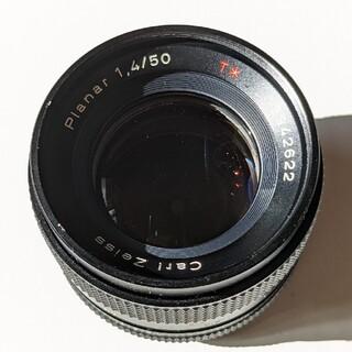 Carl Zeiss Planar 50mm f/1.4 T* マニュアルフォー