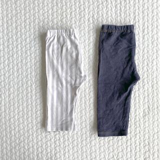 UNIQLO - UNIQLO  レギンス パンツ  2枚set  キッズ  ベビー  100cm