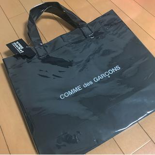 COMME des GARCONS - コムデギャルソン PVCトートバッグ ブラック