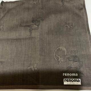 レノマ(RENOMA)の新品未使用 renomaハンカチ(ハンカチ/ポケットチーフ)