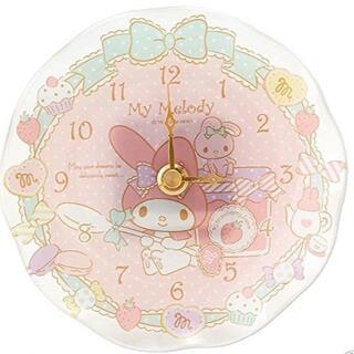 マイメロディ - マイメロディ クロック 置き時計 壁掛け シュガードリーム シリーズ