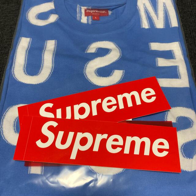 Supreme(シュプリーム)のsupreme Intarsia S/S Top Tシャツ 2021SS メンズのトップス(Tシャツ/カットソー(半袖/袖なし))の商品写真