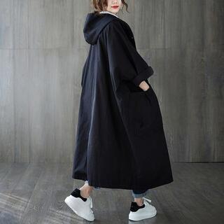 特別価格★黒 モッズコート スプリングコート