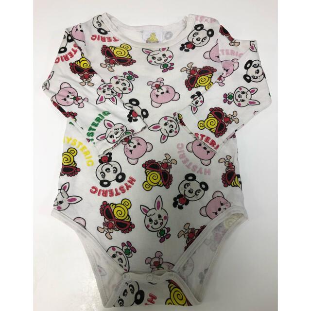 HYSTERIC MINI(ヒステリックミニ)のヒスロンパース キッズ/ベビー/マタニティのベビー服(~85cm)(ロンパース)の商品写真