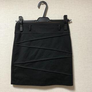 サリア(salire)のsalire ミニスカート 黒(ミニスカート)