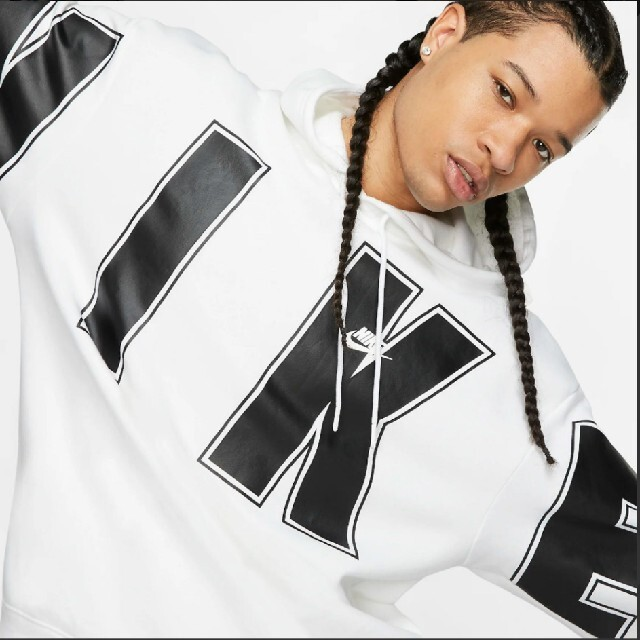 NIKE(ナイキ)のNIKE ビッグロゴ デカロゴ オーバーサイズプルーバー パーカー 入手困難 メンズのトップス(パーカー)の商品写真