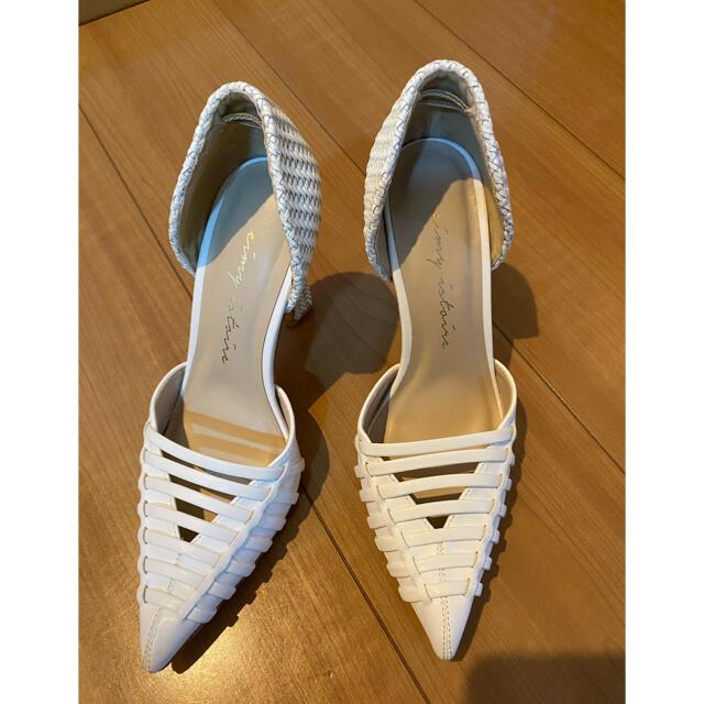 eimy istoire(エイミーイストワール)のeimy istoire サンダル レディースの靴/シューズ(ハイヒール/パンプス)の商品写真