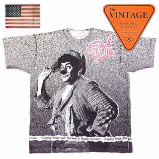 80sUSAヴィンテージサーカスピエロTシャツRinglingBrosジョーカー(Tシャツ/カットソー(半袖/袖なし))