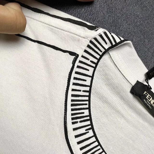 FENDI(フェンディ)の半袖 Fendi フェンディ tシャツ メンズのトップス(Tシャツ/カットソー(半袖/袖なし))の商品写真