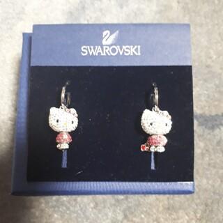 SWAROVSKI - SWAROVSKI ハローキティ コラボ ピアス 新品同様