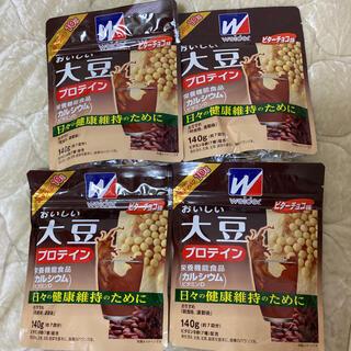 ウイダー(weider)のweider おいしい大豆プロテイン 4袋セット(プロテイン)
