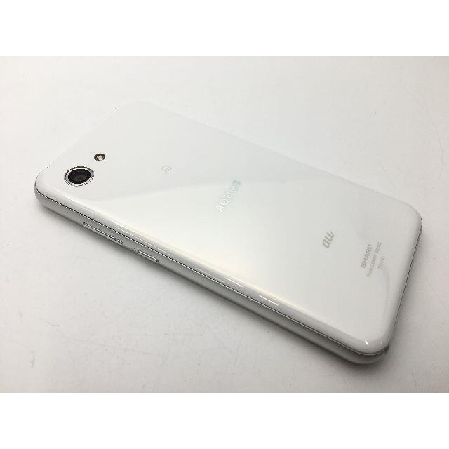 SHARP(シャープ)のSIMフリー美品au AQUOS R compact SHV41ホワイト523 スマホ/家電/カメラのスマートフォン/携帯電話(スマートフォン本体)の商品写真