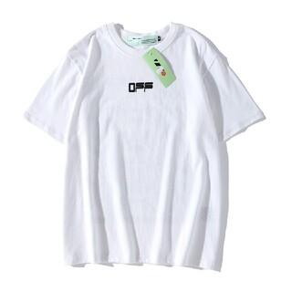 OFF WHITE と 暴力的な クマと連名半袖tシャツは男女とも着用可能です