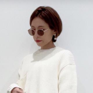 ジーユー(GU)のサングラス ・ オクタゴンメタルファッショングラス(サングラス/メガネ)