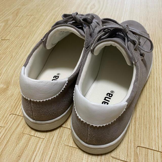 DIANA(ダイアナ)のダイアナ スニーカー グレー スエード レディースの靴/シューズ(スニーカー)の商品写真