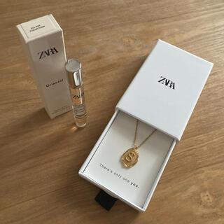 ZARA - ZARA アルファベットネックレス オリエンタルオードトワレ イニシャル S