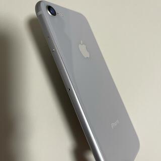 Apple - ☆極美品☆ iPhone 8 Silver 64 GB シムフリー