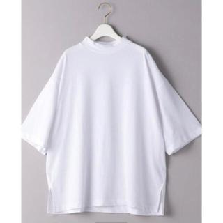 BEAUTY&YOUTH UNITED ARROWS - コットンワイドハイネック6分袖 Tシャツ