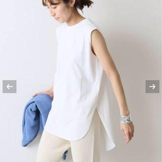 フレームワーク(FRAMeWORK)の 【ATON】 SUVIN AIR SPINNINGラウンドヘムタンクT(Tシャツ(半袖/袖なし))
