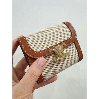 celine - CELINEセリーヌ フラップウォレット(トリオンフ) ミニ財布