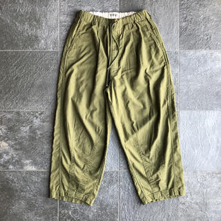COOTIE - COOTIE Back Satin Drawstring Easy Pants