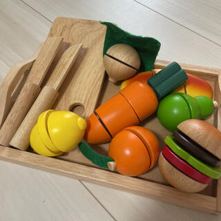 木製 ままごとセット お野菜(知育玩具)