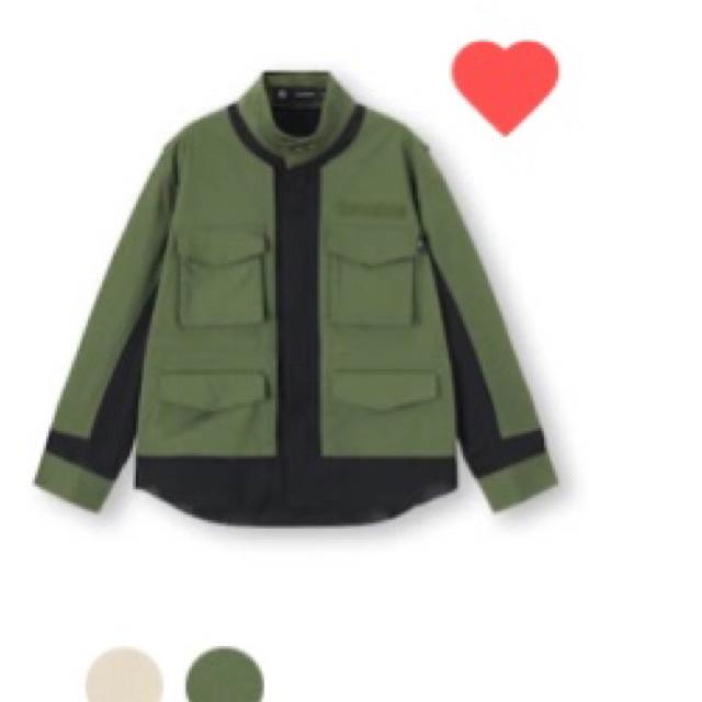 GU(ジーユー)のGU アンダーカバー アウター値下げします レディースのジャケット/アウター(ミリタリージャケット)の商品写真
