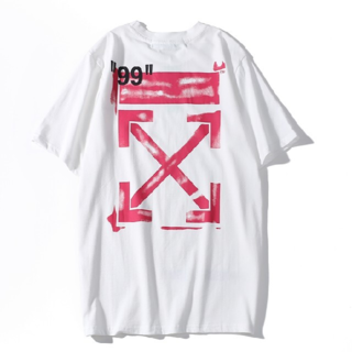 OFF-WHITE - OFF-WHITE Tシャツ 男女兼用 M