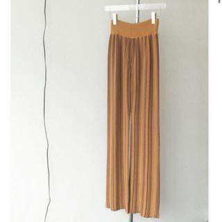TODAYFUL - Stripe Knit Leggings トゥディフル2021ss  36