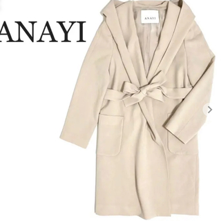 ANAYI - ANAYI  スプリングコート ベージュ サイズ38