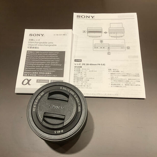 SONY - Sony α Eマウントレンズ FE 28-60mm F4-5.6