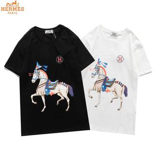 Hermes - 1802Hermes男女兼用エルメスTシャツ 半袖