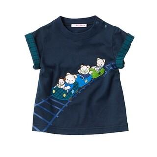 familiar - 【新品タグ付】ファミリア シャツ 半袖 110 ファミちゃん チェック 70周年