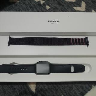 Apple Watch - ☆美品Apple Watchシリーズ3GPSモデル38mm☆
