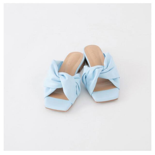 SeaRoomlynn(シールームリン)のダブルツイストサンダル シールームリン レディースの靴/シューズ(サンダル)の商品写真