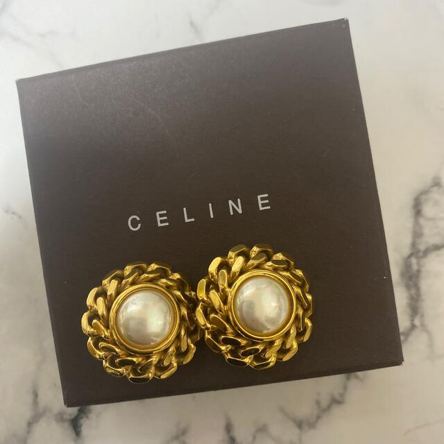 celine(セリーヌ)のヴィンテージ CELINEイヤリング レディースのアクセサリー(イヤリング)の商品写真