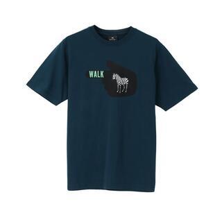 Paul Smith - 新品☆PS Paul Smith ZEBRA WALK Tシャツ☆緑☆L