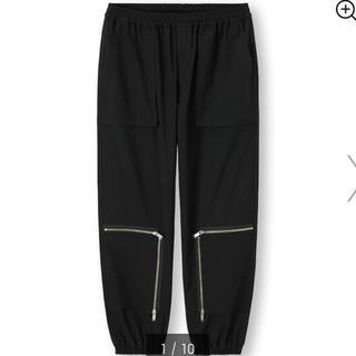 GU - 【新品未使用】 GU アンダーカバー ジップジョガーパンツ L ブラック